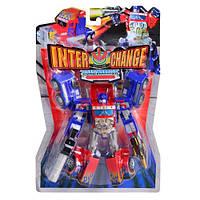 Робот трансформер Оптимус Прайм!