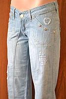 Молодёжные женские джинсы
