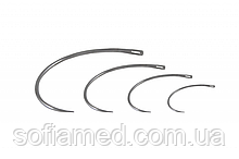 3А1 0,7 х 45 Голка хірургічна вигнута 3/8 кола