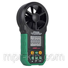 Анемометр Mastech MS6252B (PM6252B) (0,20-40,00 м/с; 99990 м3/м) с USB-интерфейсом, гигрометром и термометром