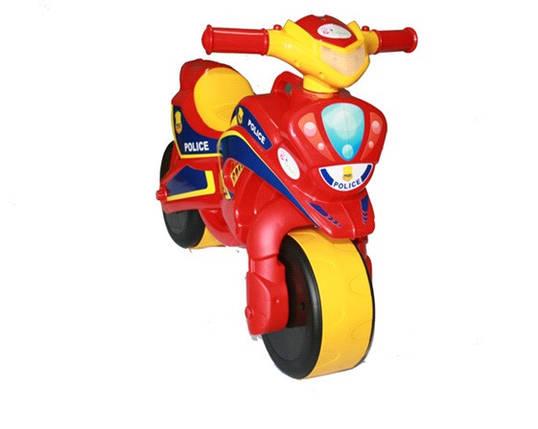 Мотоцикл-каталка Байк Полиция //, фото 2