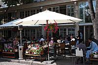 Зонт круглый СОЛО, 4м, для кафе, бара, летних площадок