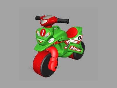Мотоцикл-каталка МотоБайк Спорт (музыкальная), фото 2