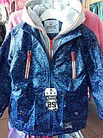 Детская весенняя куртка парка для мальчика на 6 - 11 лет