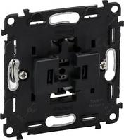 Механизм выключателя 1-клавишного кнопочного 6A IN'MATIC 752011 Legrand Valena
