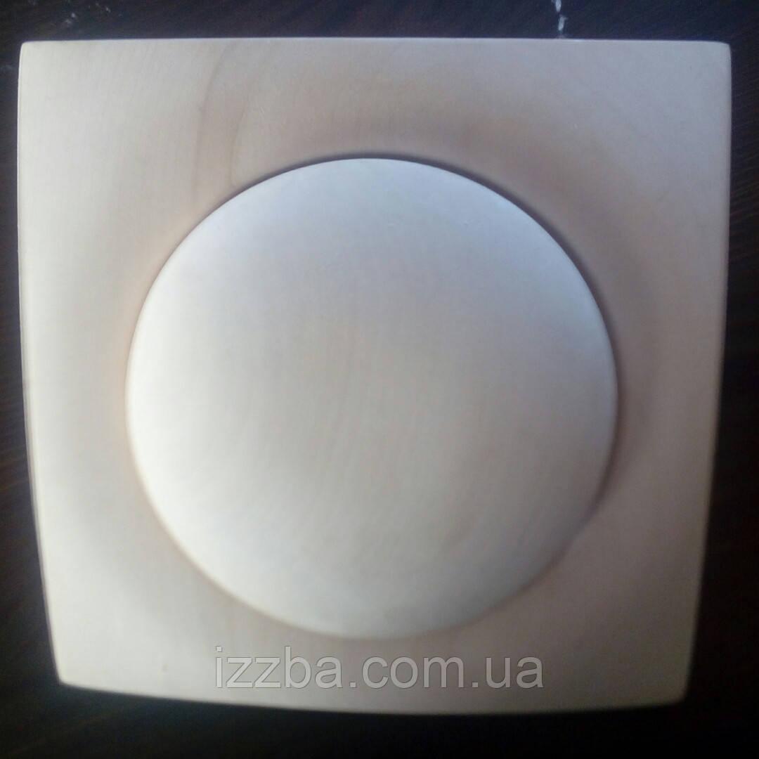 Заглушка для вентиляции в бане