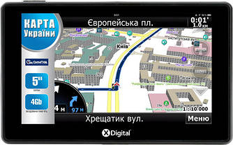GPS-навигатор X-Digital A572 CityGuide