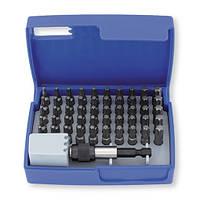 Набор бит 1/4 '' TX 51 шт. с магнитным держателем для бит, в пластиковом кейсе.