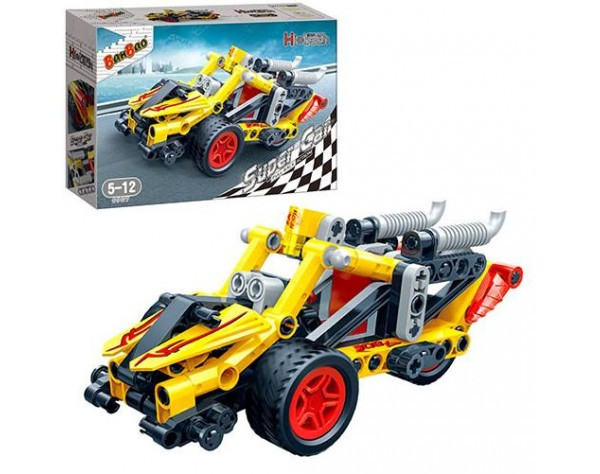 Конструктор BANBAO 6967 Машина (гоночная)