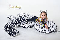 """Подушка для беременных и кормящих мам White Rabbit """"Бумеранг"""" (4 цвета)"""