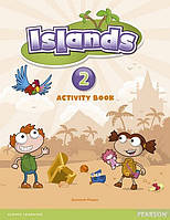 Сусанна Малпас Islands Level 2 Activity Book Plus Pin Code