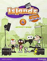 Саграрио Салаберри Islands Level 4 Activity Book Plus Pin Code