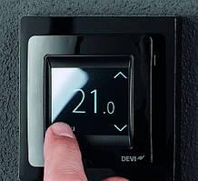 Терморегулятор для теплої підлоги DEVIreg Touch (деві тач) чорний
