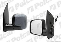 Зеркало левое механ Peugeot Bipper / Citroen Nemo Polcar