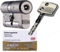 Цилиндр DOM   Diamant  37х42 ключ/ключ