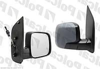 Зеркало правое механ Peugeot Bipper / Citroen Nemo Polcar