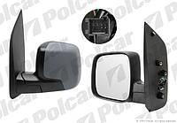 Зеркало левое электр+обогрев Peugeot Bipper / Citroen Nemo Polcar