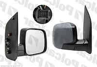 Зеркало правое электр+обогрев Peugeot Bipper / Citroen Nemo Polcar