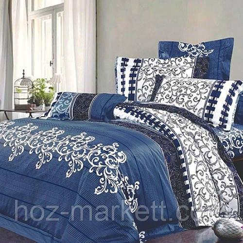 8082511ced6a Евро комплект постельного белья Вилюта 8630 синий : продажа, цена в ...