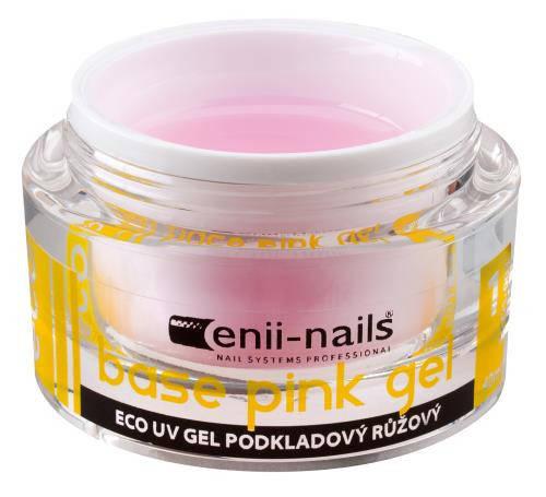 ECO розовый базовый UV-гель