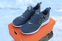 Мужские кроссовки Nike Air Presto Flyknit Gray/White