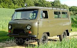 Лобовое стекло УАЗ 452
