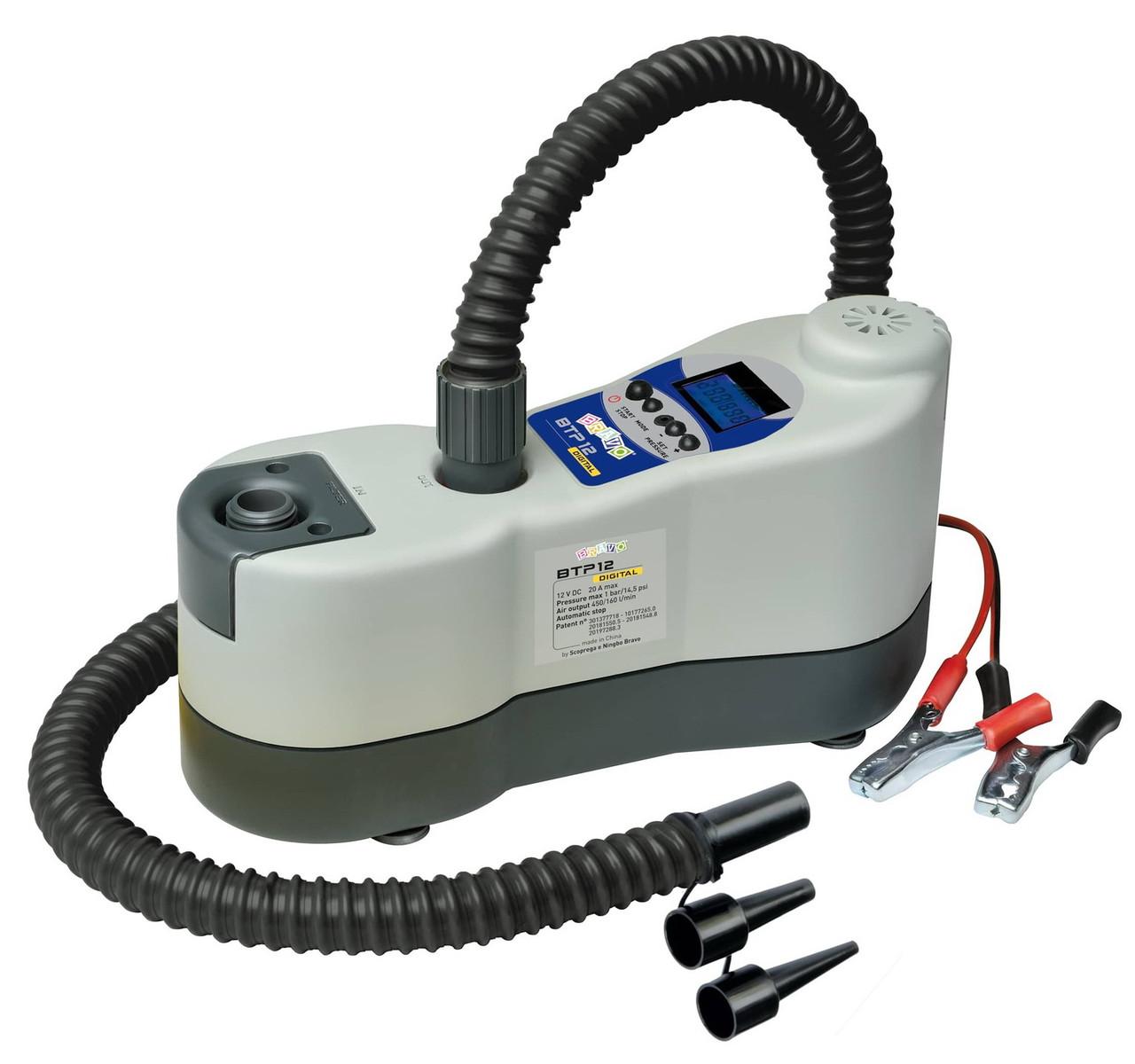 Насос электрический для надувной ПВХ лодки Bravo 450л/м