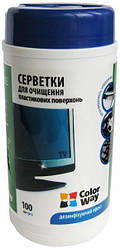 Чистящие салфетки ColorWay для оргтехники CW-1072