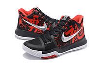Мужские баскетбольные кроссовки Nike Kyrie 3 (Black/Red), фото 1