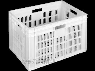 Пищевой пластиковый ящик 600х400х420