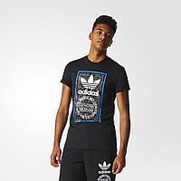 Повседневная мужская футболка с принтом Adidas Graphic BP8986 - 2017