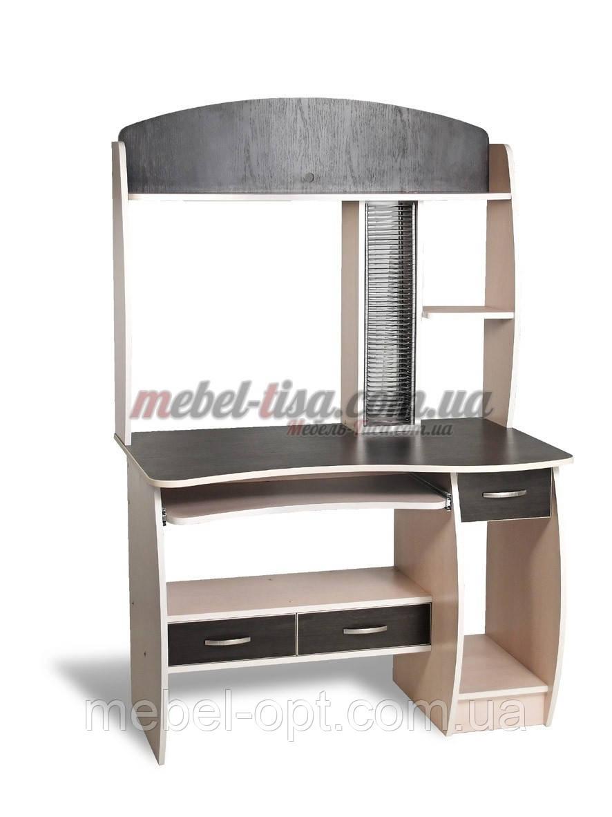 Компьютерный стол СК-9, компьютерные столы с надстройкой и ящиками