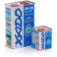Синтетическое моторное масло XADO Atomic Oil 5W-50 SL/CF