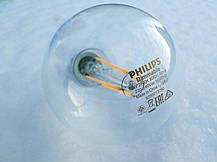 Лампа Эдисона светодиодная 7W Philips G93 2700K прозрачная, фото 2