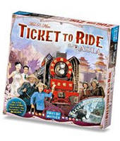 Билет на поезд: Азия (Ticket to ride: Asia) настольная игра