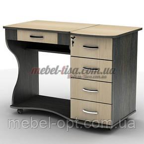 Компьютерный стол СУ-6к с ящиками и с регулируемым углом наклона столешницы, фото 2