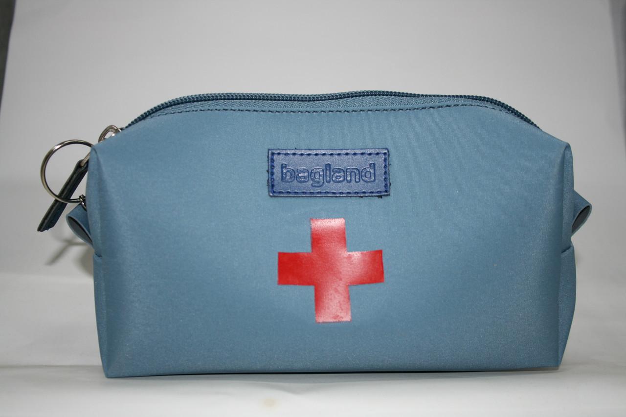 Футляр для аптечки голубой, ткань