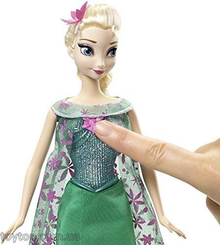 Disney Frozen Fever Singing Elsa Doll