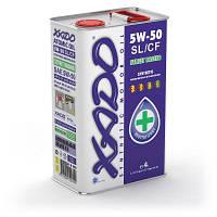 Синтетическое моторное масло XADO Atomic Oil 5W-50 SL/CF 4л