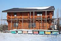 Дом деревянный со сруба 2