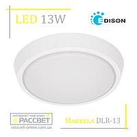 Светодиодный светильник Marella DLR-13 13W 1050Lm 5200K (накладной LED) круг, фото 1
