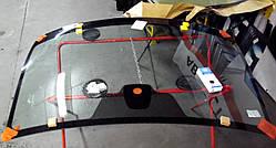 Лобовое стекло с креплением под датчик для Nissan (Нисан) Qashqai (07-13)