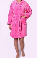 Женский теплый махровый халат в различных цветах хорошего качества, хит продаж