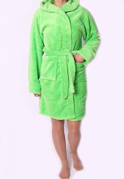 Банный махровый халат для женщин