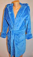 Махровый женский халат, фото 1