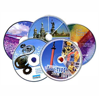Печать на дисках CD, DVD