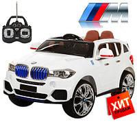 Электромобиль BMW X5 (Мякгое колесо EVА)  (MP4)