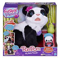 Интерактивная панда пом пом FurReal Friends Pom Pom My Baby Panda Pet