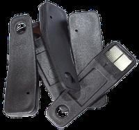 Ключ-заготовка квадратный, трёхконтактный КТ-01