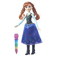 Куклы и пупсы «Disney Frozen» (B6162) модная кукла Анна (Anna) в сияющем наряде